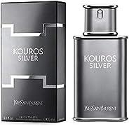 Ysl Kouros Silver Edt 100Ml, Yves Saint Laurent