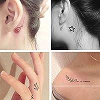 QAWSED Pegatinas De Tatuajes De Letras Simples Impermeables For ...