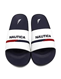 Nautica Men's Athletic Slide Comfort Sandal