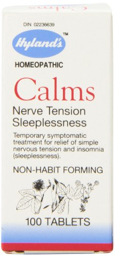 - Hyland's Calms Nerve Tension Sleeplessness, 100 - 4 gr. Tablets (Pack of 3)