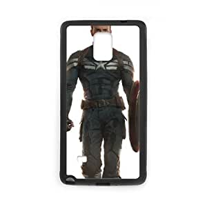 Captain Americ Samsung Galaxy Note 4 Cell Phone Case Black yyfabc_965136