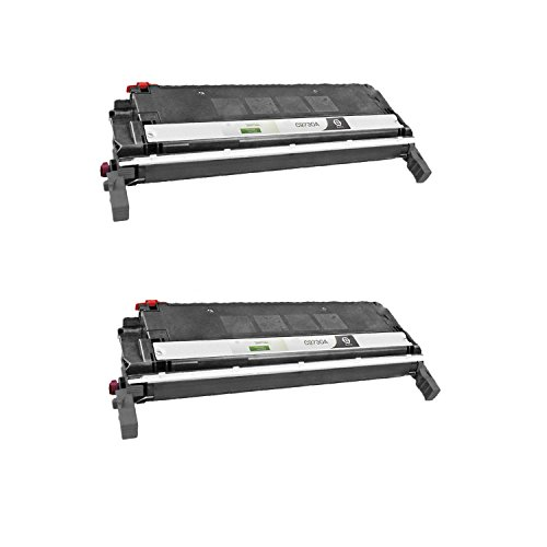 5500 Colour (Pack Of 2 Compatible Toner Cartridges: C9730A Black - For Use With HP Color LaserJet 5500 and 5550 Series Printers)