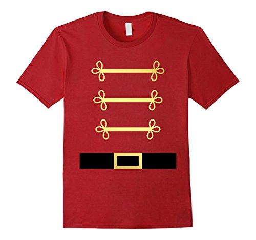 Mens Toy Soldier Nutcracker costume uniform tShirt 3XL (Nutcracker Costumes For Men)