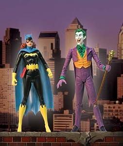 Amazon.com: Classic Silver Age Batgirl & Joker Deluxe Action Figure