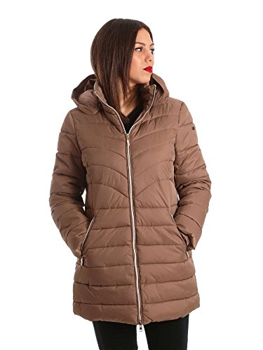Beige Jacket XL Down EK88 up Women 0001 Key w8CZIYxqn