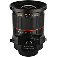 Samyang Tilt-Shift SYTS24-N 24mm f/3.5 Tilt Shift lens for Nikon At A Glance Review Image