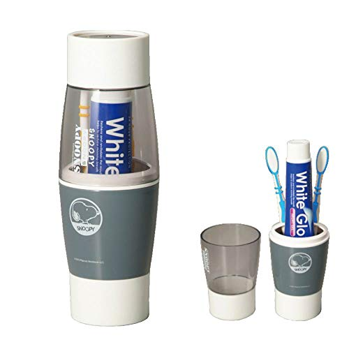 Portable Toothpaste Storage Box, Business Travel Towel, Toothpaste Storage Box, Toothbrush Travel Container and Mouth Cup ()