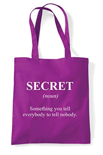 Secret Magenta Definition Alternative The In Dictionary Shopper Funny Bag Not Tote HH4fqRrxwn