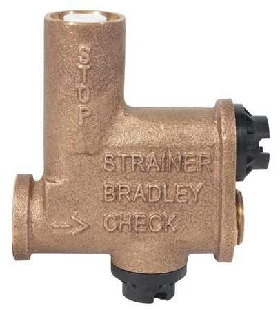 Stop Strainer, Check Valve Kit by Bradley