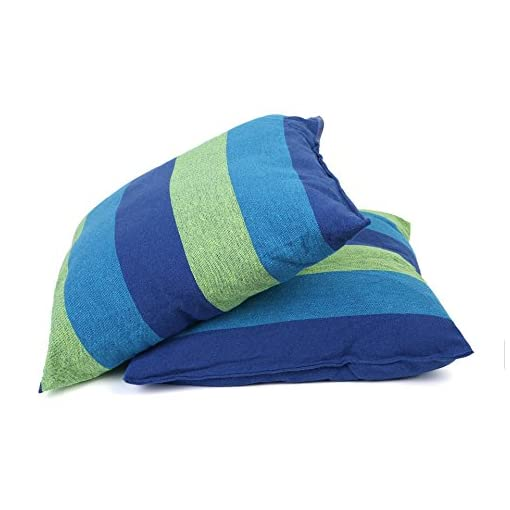 Blue /& Green Stripes Hanging Chair Blissun Hammock Chair Swing Chair