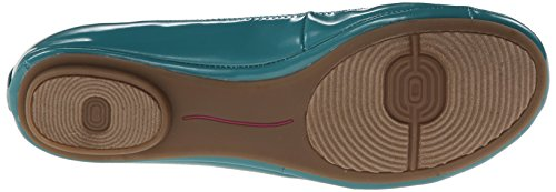 Bandolino Womens Edition Synthetic Ballet Flat Teal vT8zX0IL