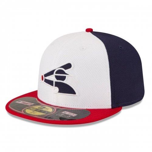 MLB Chicago White Sox Diamond Era 59Fifty Baseball Cap, 7, White/Blue