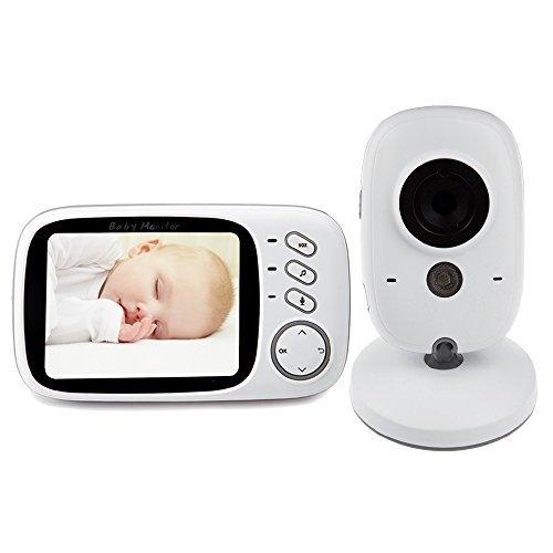 Baby Monitor, ilifesmart Baby Video Babyphone/Monitor Baby kabellos mit Kamera Überwachung 2.0ecran & Vision der Nacht YYJ