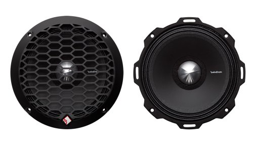 "2) Rockford Fosgate PPS4-6 6.5"" 400 Watt 4-Ohm Midrange Car Loudspeakers Speaker primary"