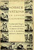 img - for Observations in Lower California book / textbook / text book