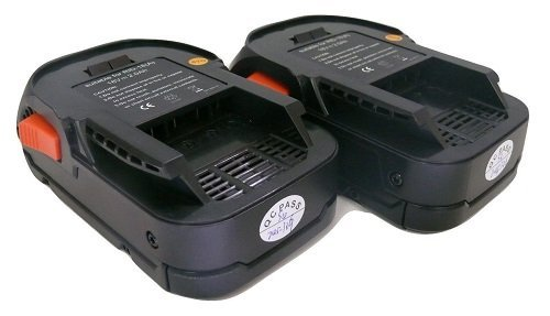 18V 2.0AH Lithium-Ion Cordless Drill Battery for 18 Volt RIDGID R840084 - 2 Pack by banshee