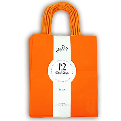 12CT MEDIUM ORANGE BIODEGRADABLE, FOOD SAFE INK &