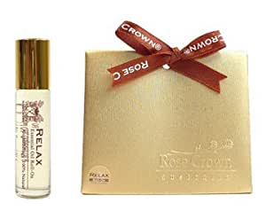 Organic All Natual Peppermint/ Lemongrass (Relax) Scented Essential Oil Roll On Perfume 10ml