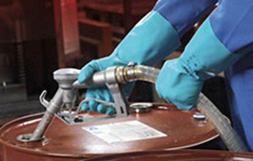 144 pr. Ansell Solvex 37-675 Chemical Resistant Nitrile Glove (9)