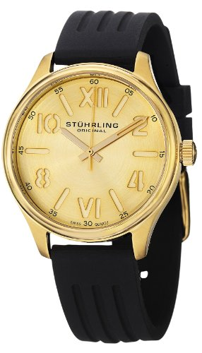 Stuhrling Original Women's 565L.02 Ascot Variance Swiss Quartz Gold-Tone Watch