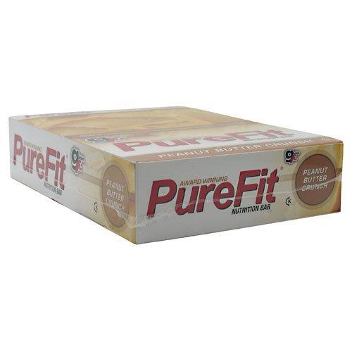 PureFit Nutrition Bar Gluten Free Peanut Butter Crunch-15 Bars by PureFit