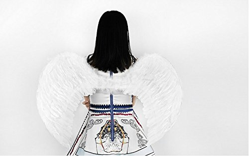 (Angel Feather Wings Costume (XL,)