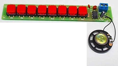 DIY Square cap bottom Digital button module 7 color in 1 set