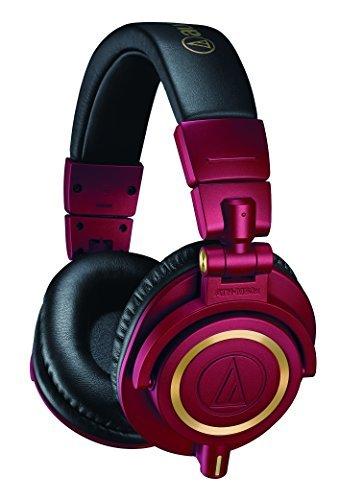 Audio-Technica ATH-M50xRD Professional Studio Monitor Headphones (Red Limited Edition)