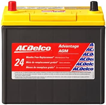ACDelco ACDB24R Advantage Automotive Battery