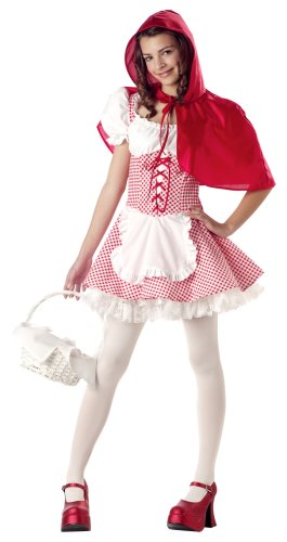 California Costumes Girls Tween Little Red Riding Hood Costume