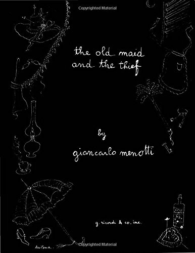 The Old Maid and the Thief: English Language Edition, Vocal Score (Belwin Edition)