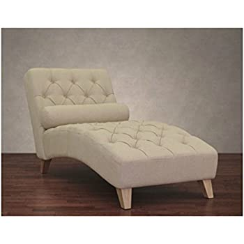 indoor chaise lounge protective covers this item natural linen chair soft foam cushion elegant diamond design chairs with arms clearance