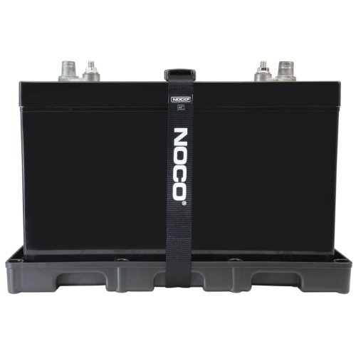 NOCO BT31S Black Group 24-31 HD Battery Tray for Automotive, Marine and RV Batteries