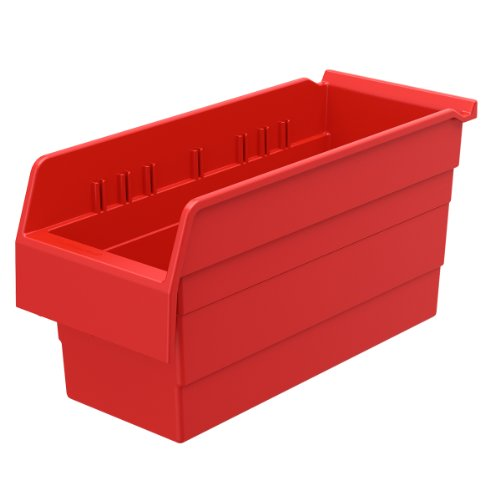 AKRO-MILS 30866 ShelfMax 8 Plastic Nesting Shelf Bin Box,...