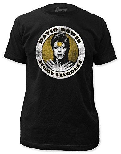 David Bowie - Ziggy Stardust (slim fit) T-Shirt Size L