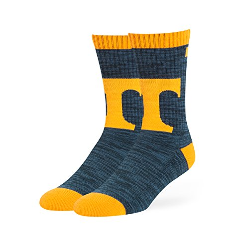 OTS NCAA Tennessee Volunteers Ice Box Sport Socks, Large, Navy