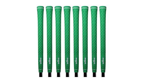 Winn Pro Wrap - 8 Majek Tour Pro Lime Green Standard Golf Grips