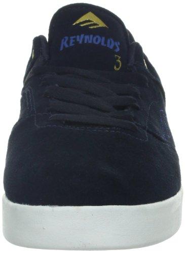 Chaussures Reynolds Bleu 640 Pour Homme Skateboard De The Vulc Low Emerica blue IR7Ox7