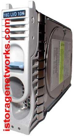 (HP P4619A 18.2GB hot-swap Ultra3 SCSI hard drive - 10000 RPM, low profile; )