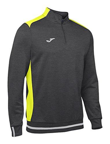 Joma Foncã Ii shirt Campus Gris De Homme Pour jaune Fluo Sweat OOPqTw1