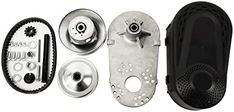Florenceenid Go Kart Torque Converter Kit Centrifugal Clutch 1 Inch 12 Tooth for 35 Chains