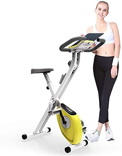 Vouwfiets, Slim Cycle Indoor Stationary Bike Seat, cross Trainer Oefening Fiets voor Thuis peleton Met Thuis Oefening…