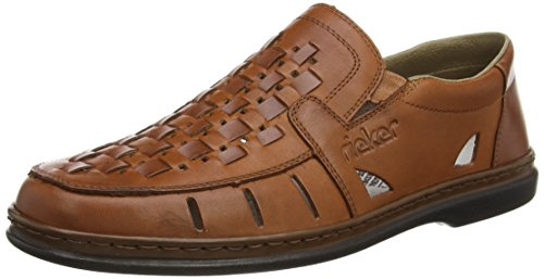 Red Brown Flat Mens Rieker Chestnut xZwFHzgq