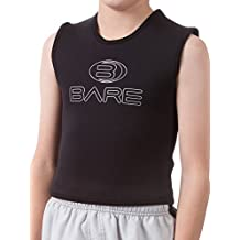 Bare 3mm Jr Kids Neoprene Wetsuit Vest, Great for Snorkeling Surf Swim/Youth-14