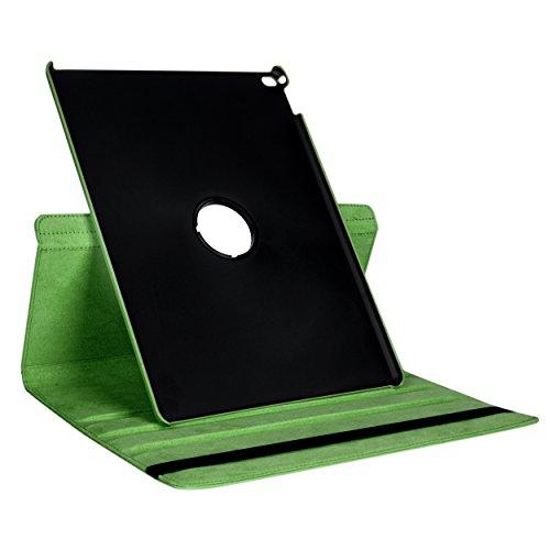 SumacLife Apple iPad Pro Vegan Leather 360 Rotating Self-...
