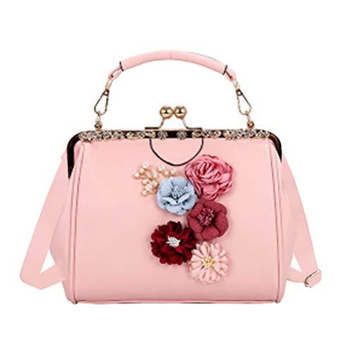 Abuyall Retro Kiss Lock Pu Leather Chains Minimalist Crossbag Bag Diamonds Appliques Shoulder Purse Handbag Totes Bag Satchel Ladies Pt10