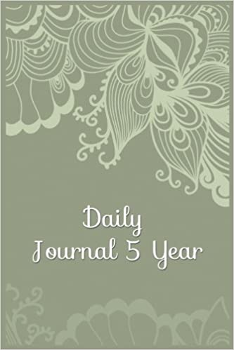 Daily Journal 5 Year: 5 Years Of Memories, Blank Date No Month, 6 x 9, 365 Lined Pages