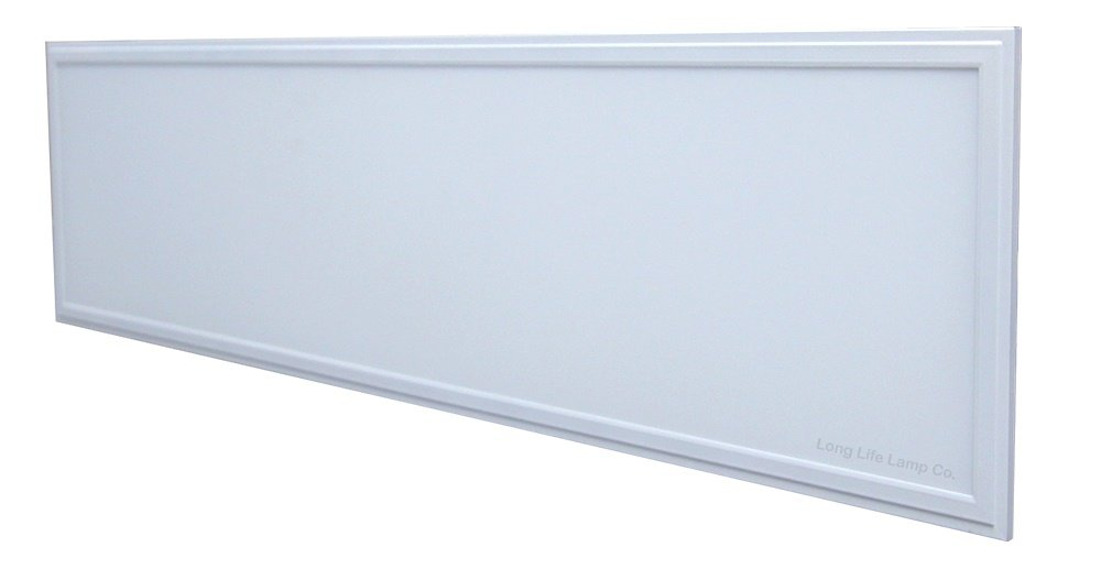 40W Cool White LED Ceiling Panel Flat Tile Panel Downlight 6500k Super Bright 1200 x 300 Premium Quality, 3 Years Warranty [Energy Class A++] Long Life Lamp Company
