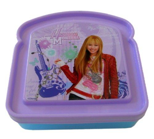 Hannah Montana Lunch Box (Disney Hannah Montana Sandwich Box)