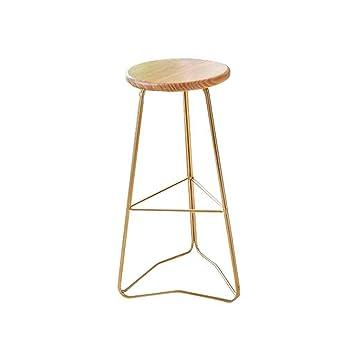 GAOLI Metal Moderno de Cocina Pub sillas Altas para sillas de ...